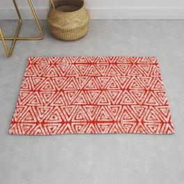 African Batik Te Dye Pattern 3 Rug