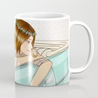 car Mugs featuring Car by Lotty