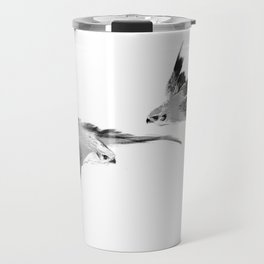 BBC Merlin: In Spite of Everything, the Stars (Twin Merlins) [METAL TRAVEL MUG] Travel Mug