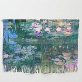 water lilies : Monet Wall Hanging