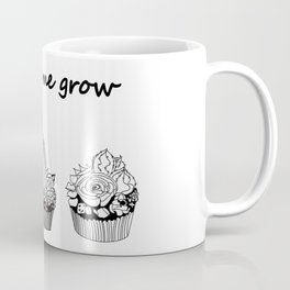 little cacti and succulents . Watch me grow ( https://society6.com/totalflora/collection ) Coffee Mug