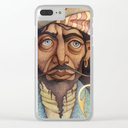Captain Hook Clear iPhone Case