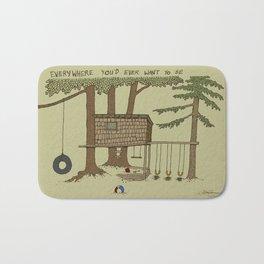 Tree Fort Bath Mat