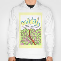 paper towns Hoodies featuring Paper Towns by green.lime