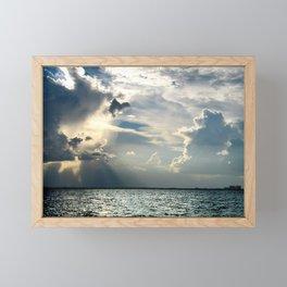 Coconut Grove Sailing Day Framed Mini Art Print