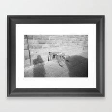 Surface Tension: Trolly, Glasgow Framed Art Print