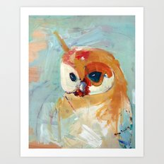 Northern Spotted Owl Art Print