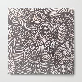 Doodle 10 Metal Print