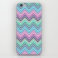 herringbone iPhone & iPod Skins featuring Herringbone by Adikt