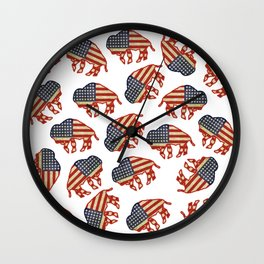 The City of Good Neighbors Wall Clock