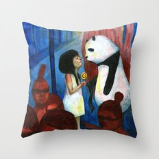 You open my eyes Throw Pillow