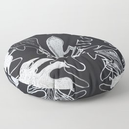Monstera Mash Floor Pillow