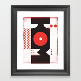 King of the Mountains, Abstract 1 Framed Art Print
