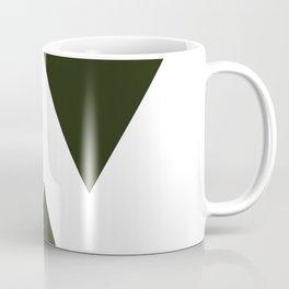 Abstract Black Coffee Mug
