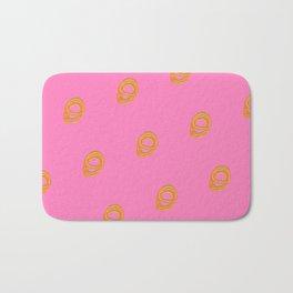 Jalebi Patter- Bubblegum Pink Bath Mat