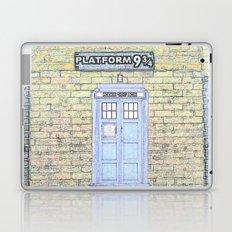 Tardis Hogwarts Laptop & iPad Skin