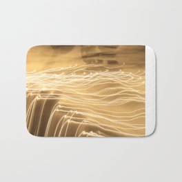 strokes of light Bath Mat