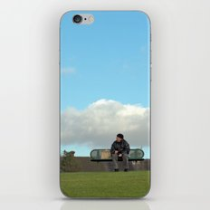 sitting on top of the world... iPhone & iPod Skin