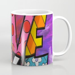 Exploding Love Coffee Mug