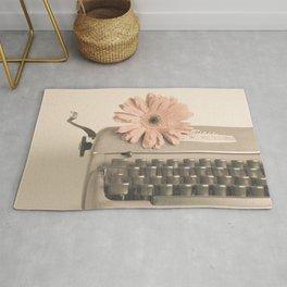 Soft Typewriter (Retro and Vintage Still Life Photography) Rug