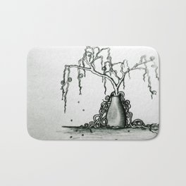 Wilted Plant Bath Mat