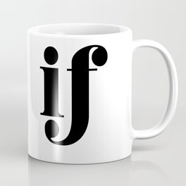 as if Coffee Mug
