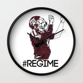 Johnny Regime Wall Clock