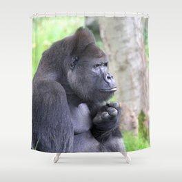 Gorilla 519-2 Shower Curtain