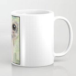 Ostrich 'Stache Coffee Mug