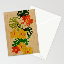 Limahuli Garden Hawaiian Floral Design Stationery Cards