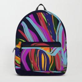 Brink Of 2021 Abstract Painting Digital Art  Backpack