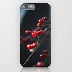 Winter Berries II Slim Case iPhone 6s