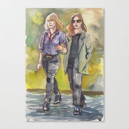 Heist wives Canvas Print