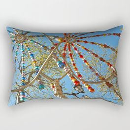 Colourful Metro Canopy Rectangular Pillow
