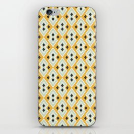 Geometric Tribal Yellow Pattern iPhone Skin