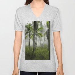 Jungle Trees Unisex V-Neck