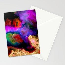 100 Starry Nebulas in Space 082 (Portrait) Stationery Cards