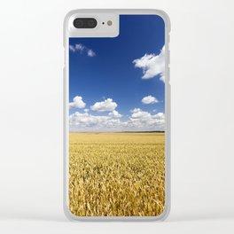 sunlit landscape Clear iPhone Case