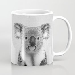 Koala 2 - Black & White Coffee Mug