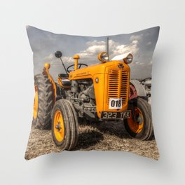 The Yellow 35 Throw Pillow