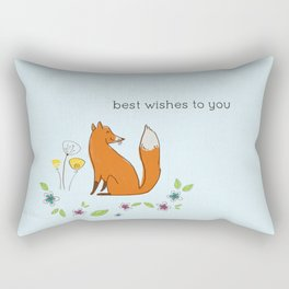 Best wishes to you Rectangular Pillow