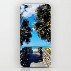 Pathway to Beach Heaven iPhone & iPod Skin