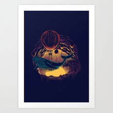 Swift Migration Art Print