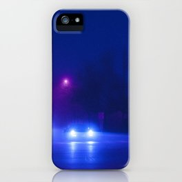 Synthwave Streets (1) iPhone Case
