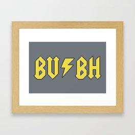 Butt-Head (BV & BH) Framed Art Print