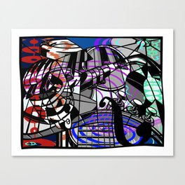 Jam Session (Cacophony) Canvas Print
