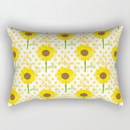 Inspired Sunshine Quote Rectangular Pillow