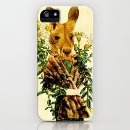 Australian Icon: The Kangaroo iPhone Case
