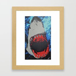 Shark Framed Art Print
