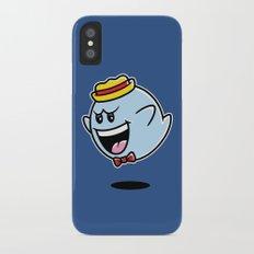 Super Cereal Ghost iPhone X Slim Case